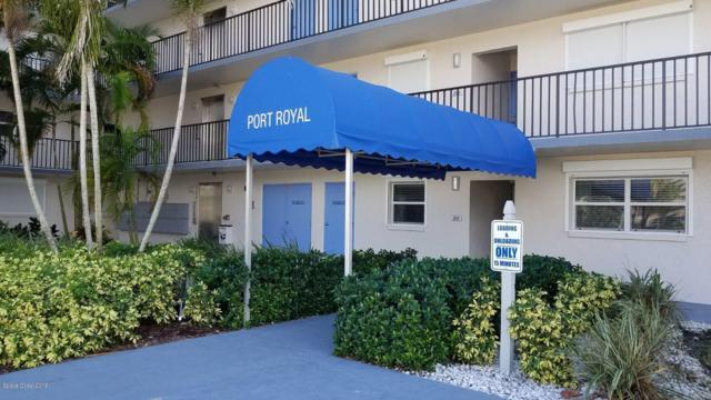1700 N Atlantic Avenue #225, Cocoa Beach, FL 32931 (MLS #827769) :: Pamela Myers Realty