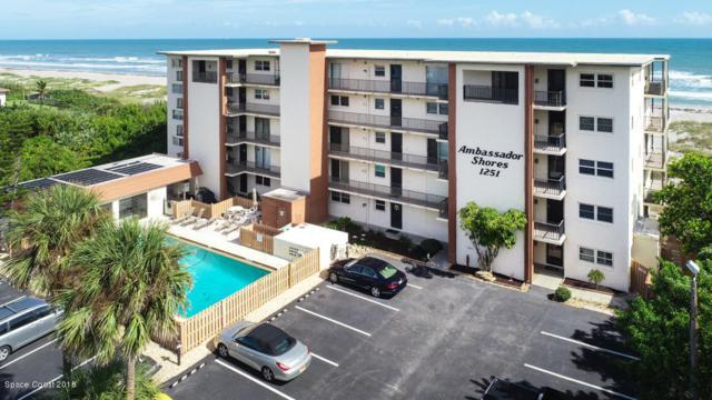 1251 S Atlantic Avenue #503, Cocoa Beach, FL 32931 (MLS #829028) :: Pamela Myers Realty