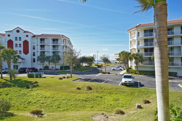 8932 Laguna Lane #204, Cape Canaveral, FL 32920 (MLS #831509) :: Premium Properties Real Estate Services