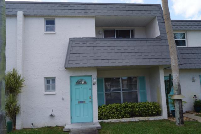 443 Blue Jay Lane #63, Satellite Beach, FL 32937 (MLS #832391) :: Platinum Group / Keller Williams Realty