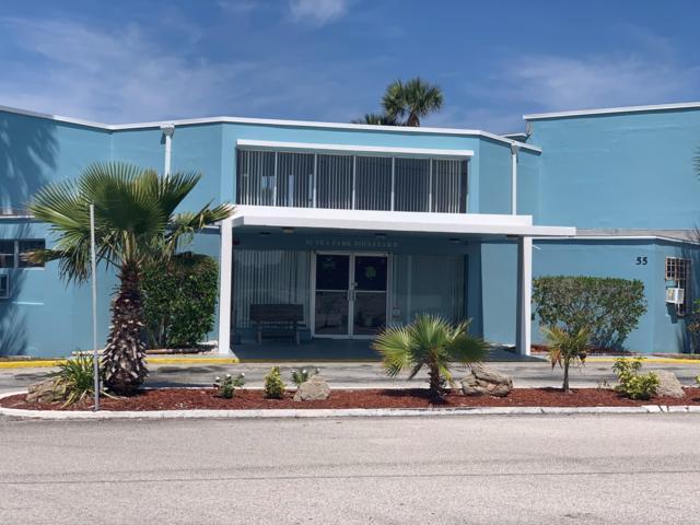 55 Sea Park Boulevard #410, Satellite Beach, FL 32937 (MLS #839652) :: Premium Properties Real Estate Services