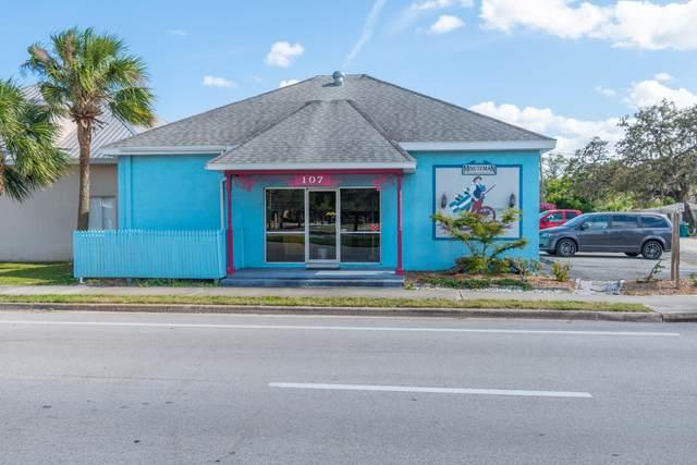 107 E New Haven Avenue E, Melbourne, FL 32901 (MLS #852508) :: Blue Marlin Real Estate