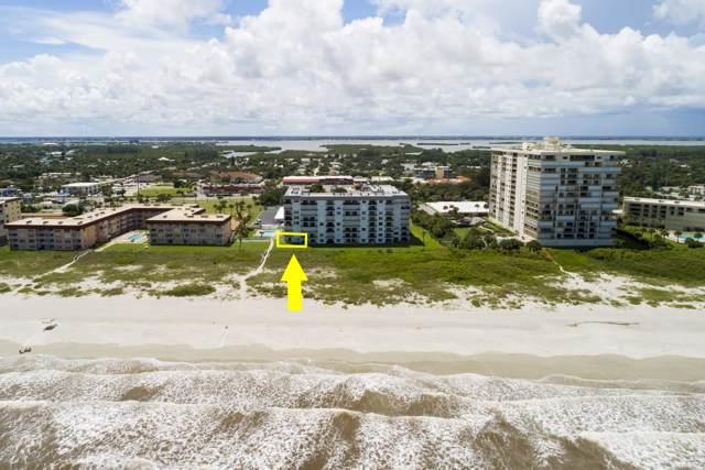 650 N Atlantic Avenue #102, Cocoa Beach, FL 32931 (MLS #855058) :: Premium Properties Real Estate Services