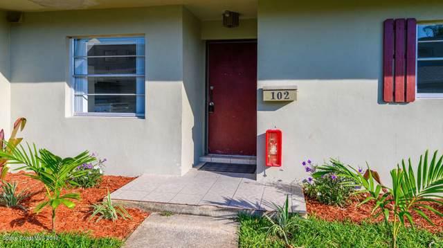 2012 Grant Place #102, Melbourne, FL 32901 (MLS #858804) :: Premium Properties Real Estate Services