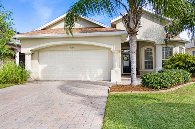 1205 Clubhouse Drive, Rockledge, FL 32955 (MLS #861223) :: Premium Properties Real Estate Services