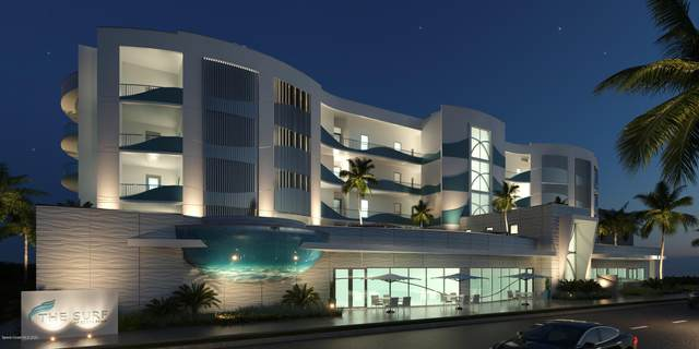 65 N Atlantic Avenue #402, Cocoa Beach, FL 32931 (MLS #862262) :: Premium Properties Real Estate Services
