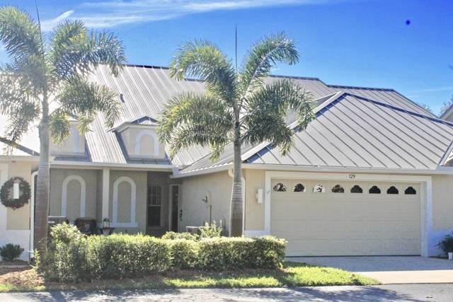 129 Aquarina Boulevard, Melbourne Beach, FL 32951 (MLS #863410) :: Coldwell Banker Realty