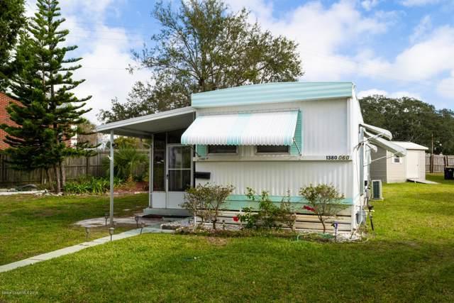1380 Turkey Creek Drive NE #60, Palm Bay, FL 32905 (MLS #864244) :: Engel & Voelkers Melbourne Central