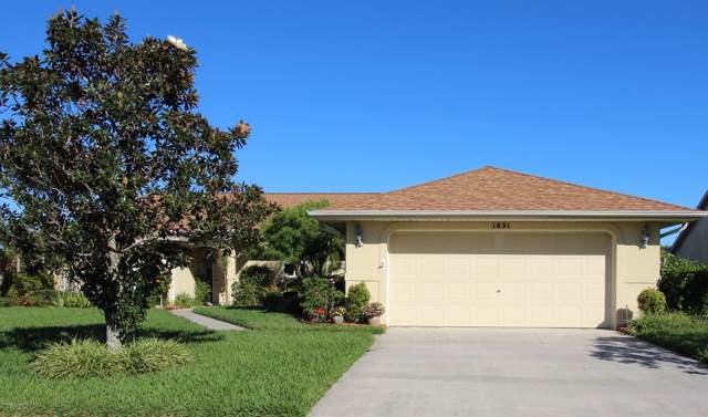1831 Freedom Drive, Melbourne, FL 32940 (MLS #864454) :: Blue Marlin Real Estate