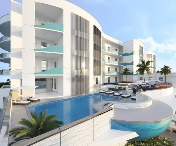 65 N Atlantic Avenue #205, Cocoa Beach, FL 32931 (MLS #868291) :: Premium Properties Real Estate Services