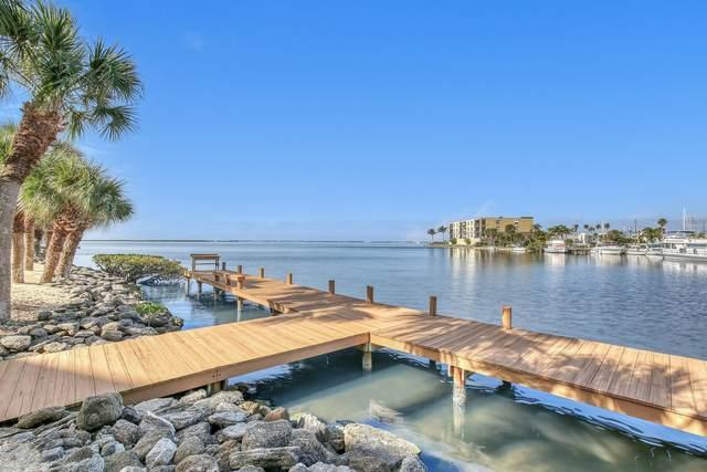 3873 S Banana River Boulevard #108, Cocoa Beach, FL 32931 (MLS #868702) :: Premium Properties Real Estate Services