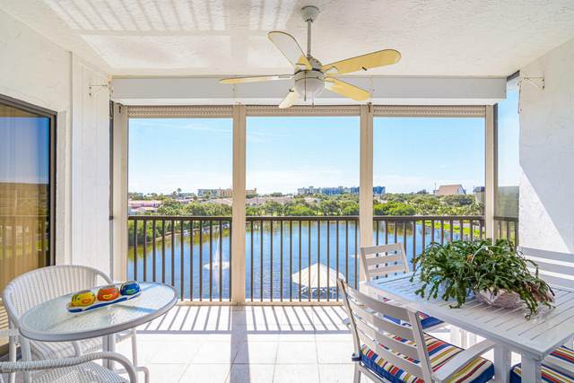 3613 S Banana River Boulevard D-506, Cocoa Beach, FL 32931 (MLS #873422) :: Blue Marlin Real Estate