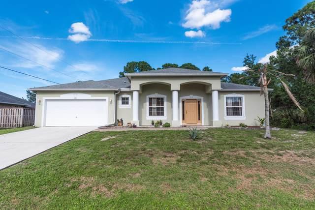 291 NW Medea Avenue NW, Palm Bay, FL 32907 (MLS #875455) :: Blue Marlin Real Estate