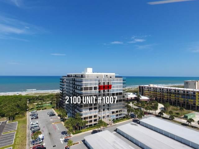 2100 N Atlantic Avenue #1007, Cocoa Beach, FL 32931 (MLS #876456) :: Coldwell Banker Realty