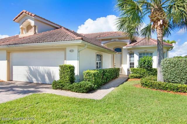 835 Aquarina Boulevard, Melbourne Beach, FL 32951 (MLS #877527) :: Blue Marlin Real Estate