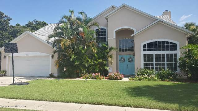 764 Watermill Drive, Merritt Island, FL 32952 (MLS #879382) :: Premium Properties Real Estate Services