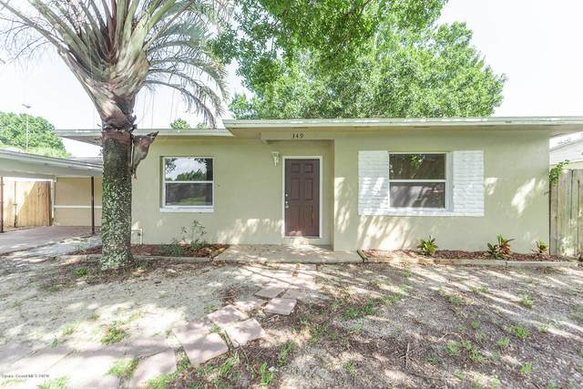 349 Vesta Circle, Melbourne, FL 32901 (MLS #881219) :: Blue Marlin Real Estate