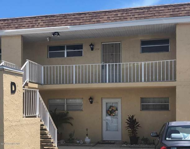 2135 N Courtenay Parkway #232, Merritt Island, FL 32953 (MLS #882161) :: Premium Properties Real Estate Services