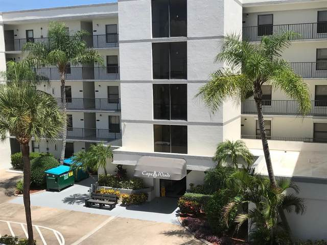 7400 Ridgewood Avenue #108, Cape Canaveral, FL 32920 (MLS #883808) :: Premium Properties Real Estate Services