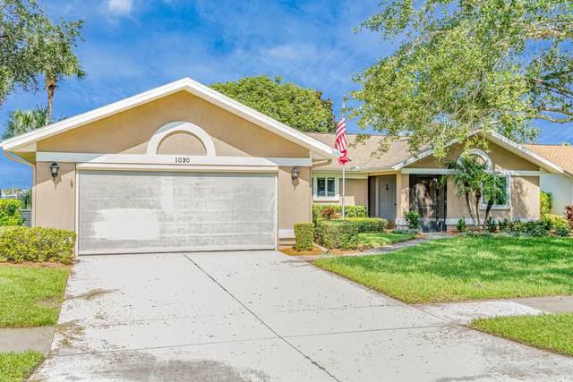1030 Continental Avenue, Melbourne, FL 32940 (MLS #884767) :: Premium Properties Real Estate Services