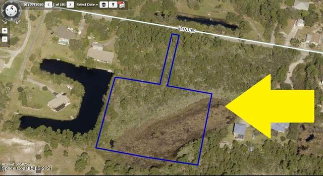 2 Lots On Grant Road, Grant, FL 32949 (MLS #885752) :: Blue Marlin Real Estate