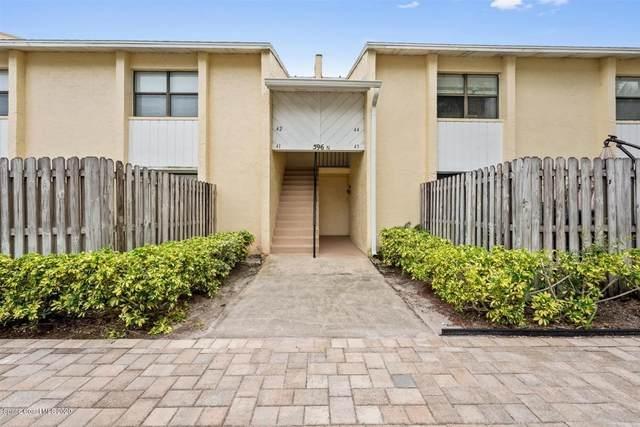 596 N Wickham Road #42, Melbourne, FL 32935 (MLS #885779) :: Blue Marlin Real Estate