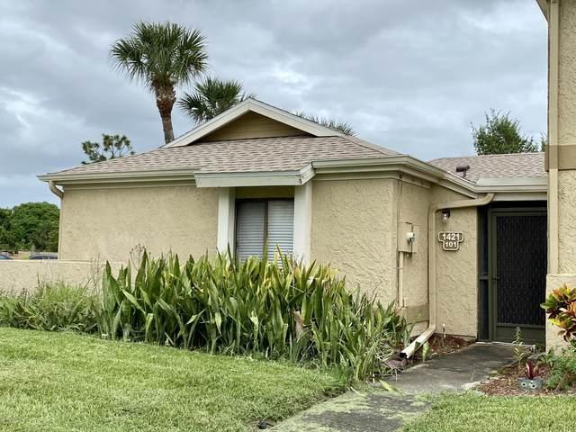 1421 Sheafe Avenue NE #101, Palm Bay, FL 32905 (MLS #886181) :: Coldwell Banker Realty