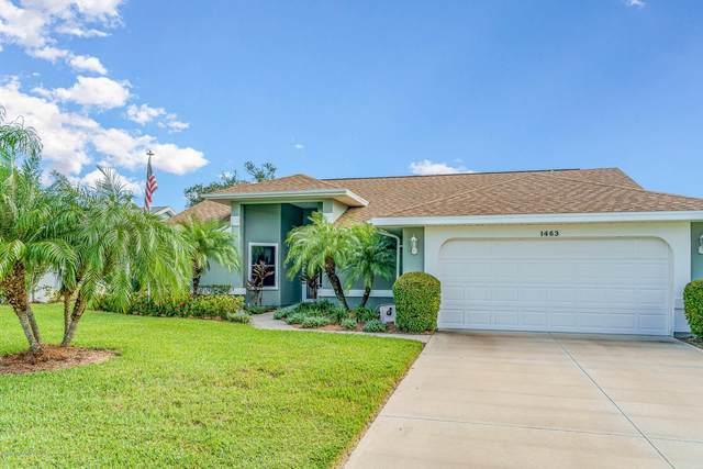 1463 Patriot Drive, Melbourne, FL 32940 (MLS #886550) :: Premium Properties Real Estate Services