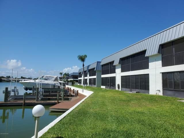 205 S Banana River Boulevard #102, Cocoa Beach, FL 32931 (MLS #887626) :: Coldwell Banker Realty