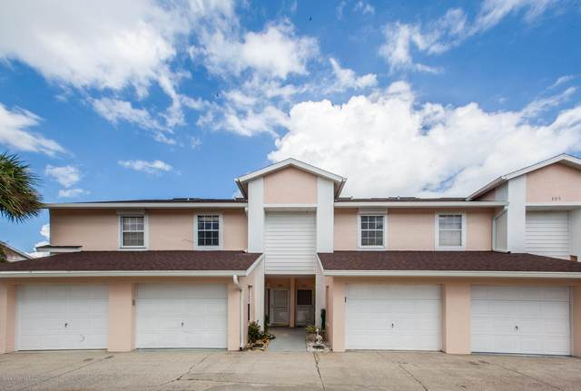 105 Escambia Lane Unit 806, Cocoa Beach, FL 32931 (MLS #887743) :: Coldwell Banker Realty