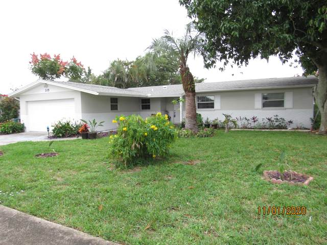 205 Mindy Avenue, Merritt Island, FL 32953 (MLS #888219) :: Premium Properties Real Estate Services
