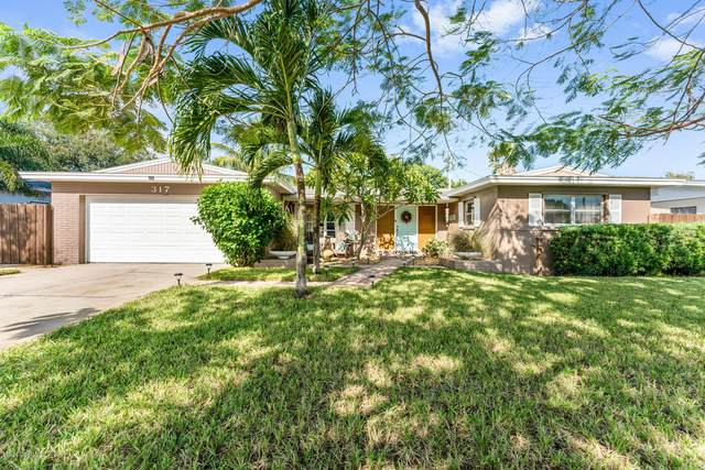 317 Apollo Drive, Satellite Beach, FL 32937 (MLS #889359) :: Premium Properties Real Estate Services