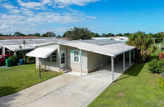 606 Puffin Drive, Barefoot Bay, FL 32976 (MLS #889372) :: Premium Properties Real Estate Services