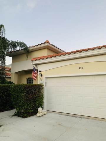 812 Bayside Drive #901, Cape Canaveral, FL 32920 (MLS #889610) :: Coldwell Banker Realty