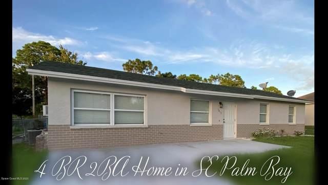1613 Talbott Street SE, Palm Bay, FL 32909 (MLS #889851) :: Premium Properties Real Estate Services