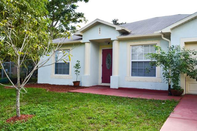 684 NW Elmont Street NW, Palm Bay, FL 32907 (MLS #890120) :: Premium Properties Real Estate Services