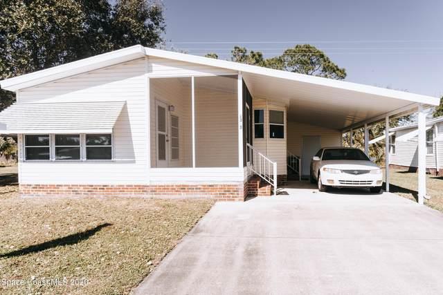 2383 Coconut Palm Drive NE, Palm Bay, FL 32905 (MLS #891272) :: Blue Marlin Real Estate