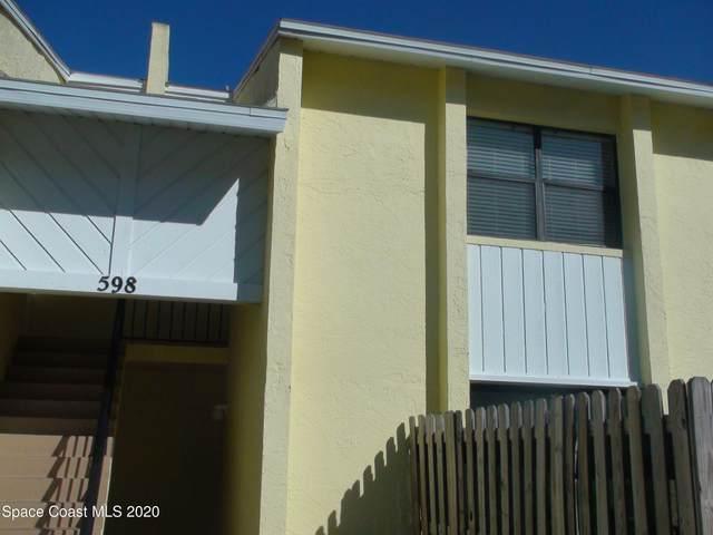 598 N Wickham Road #78, Melbourne, FL 32935 (MLS #893871) :: Engel & Voelkers Melbourne Central