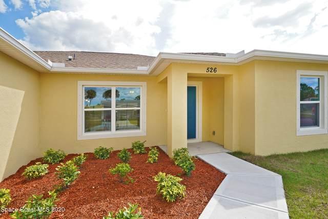 143 Brannon Street SW, Palm Bay, FL 32908 (MLS #894429) :: Blue Marlin Real Estate
