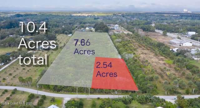 00000 W W Crisafulli Road Road, Merritt Island, FL 32953 (MLS #896691) :: Premium Properties Real Estate Services