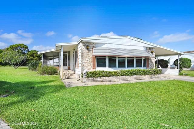 530 Ruth Circle, West Melbourne, FL 32904 (MLS #900049) :: Blue Marlin Real Estate