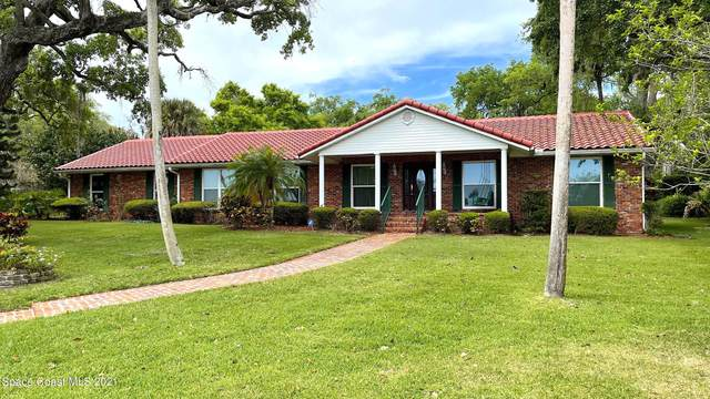 110 S Twin Lakes Road, Cocoa, FL 32926 (MLS #900163) :: Blue Marlin Real Estate