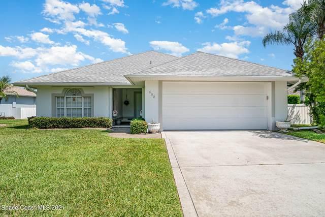 608 Gina Lane, Melbourne, FL 32940 (MLS #900228) :: Blue Marlin Real Estate