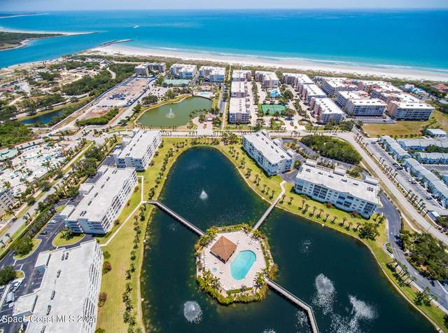 8921 Lake Drive B402, Cape Canaveral, FL 32920 (MLS #900263) :: Engel & Voelkers Melbourne Central