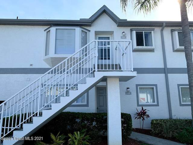 107 Ocean Park Lane #294, Cape Canaveral, FL 32920 (MLS #901184) :: Premier Home Experts
