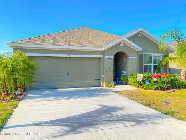 270 Sutherland Drive SW, Palm Bay, FL 32908 (MLS #901657) :: Blue Marlin Real Estate