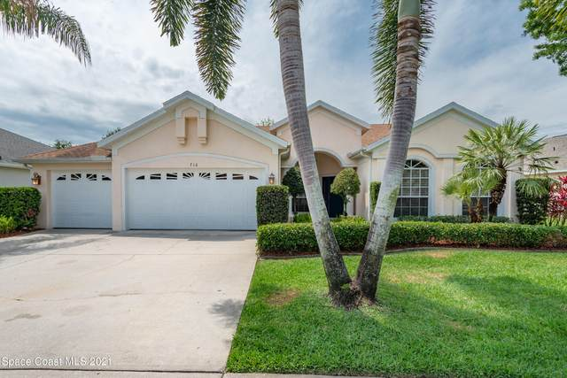 716 Autumn Glen Drive, Melbourne, FL 32940 (MLS #902610) :: Blue Marlin Real Estate
