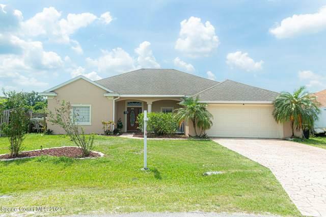 712 Campbell Street SE, Palm Bay, FL 32909 (MLS #902774) :: Blue Marlin Real Estate