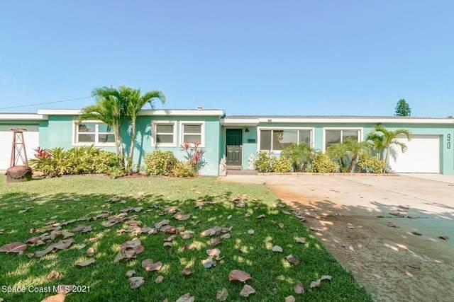 90 Flamingo Drive, Satellite Beach, FL 32937 (MLS #903369) :: Blue Marlin Real Estate