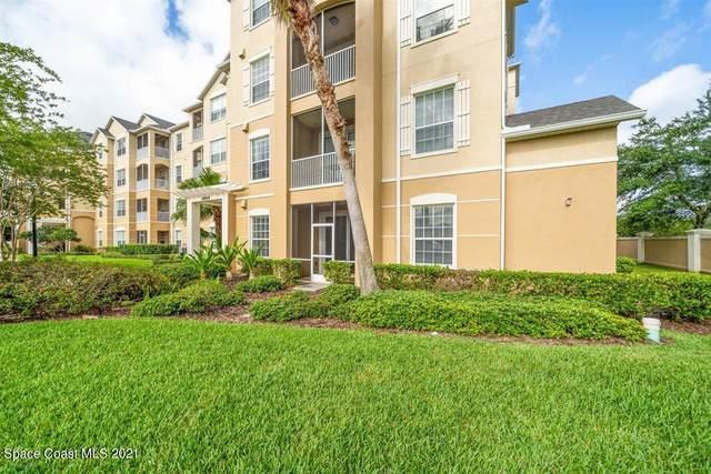 3848 Lexmark Lane #106, Rockledge, FL 32955 (MLS #903562) :: Blue Marlin Real Estate